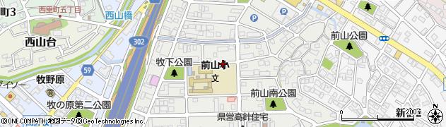 愛知県名古屋市名東区牧の里周辺の地図