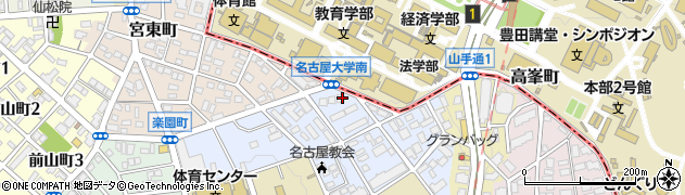 八雲マンション周辺の地図