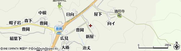 愛知県豊田市富岡町(安代貝戸)周辺の地図