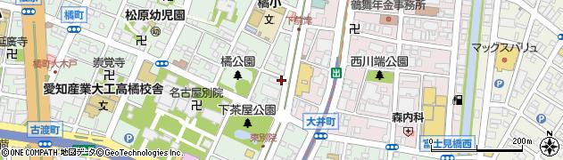 喜多楽周辺の地図