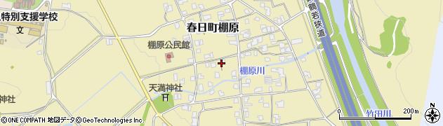 兵庫県丹波市春日町棚原周辺の地図