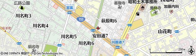 宅配クック1・2・3なごや中央店周辺の地図