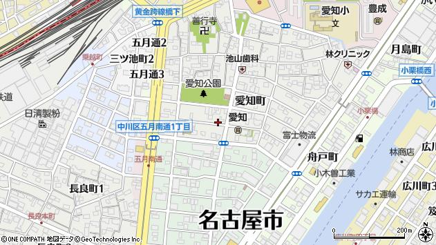 〒454-0807 愛知県名古屋市中川区愛知町の地図