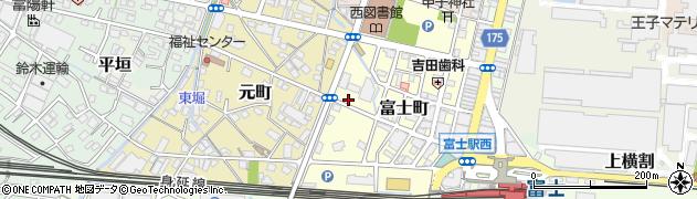 知炉留周辺の地図