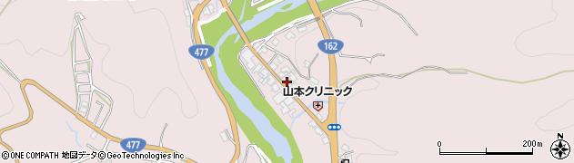 京都府京都市右京区京北周山町(中ケ市)周辺の地図