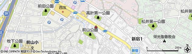 真央周辺の地図
