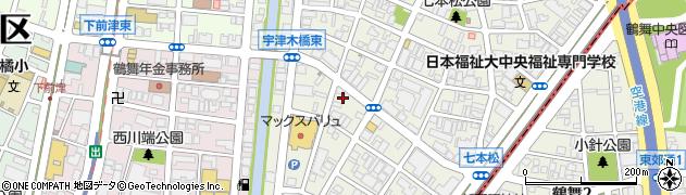かぶらやグループセントラルキッチン周辺の地図