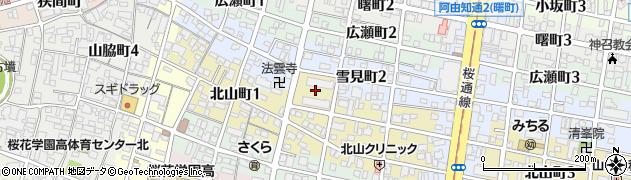 北山荘周辺の地図