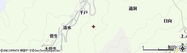 愛知県豊田市菅生町周辺の地図