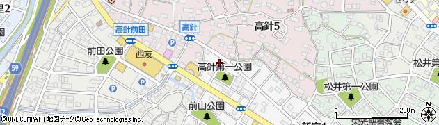 串友周辺の地図