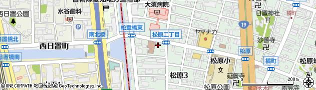ビーンズハート周辺の地図