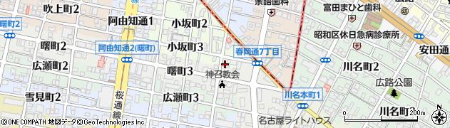 明岸寺周辺の地図