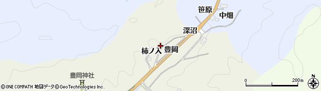 愛知県豊田市富岡町(深沼)周辺の地図