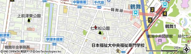藤和シティコープ周辺の地図