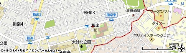 さくら配食サービス 日進・名東南事業所周辺の地図