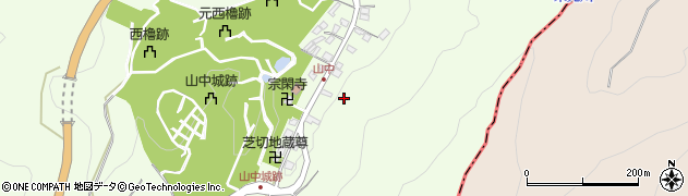 静岡県三島市山中新田周辺の地図