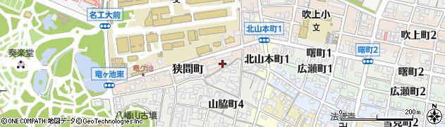 東海財務局社宅周辺の地図