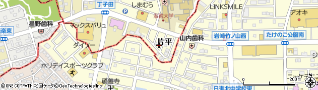 道とん堀長久手店周辺の地図
