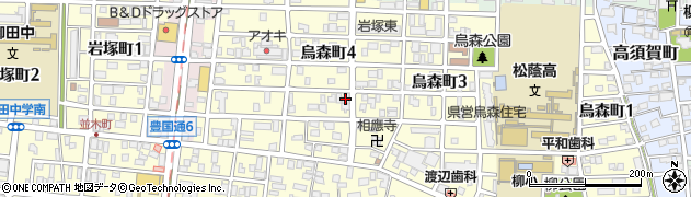 ポパイ周辺の地図