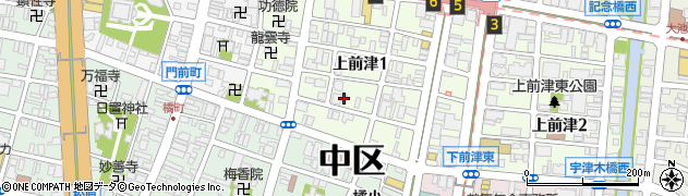 夢島周辺の地図