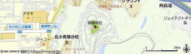 日進グリーンハイツ周辺の地図