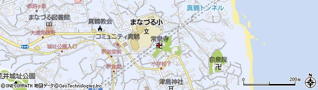 常泉寺周辺の地図