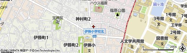 パル周辺の地図