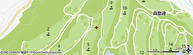 愛知県豊田市中立町(大日陰)周辺の地図