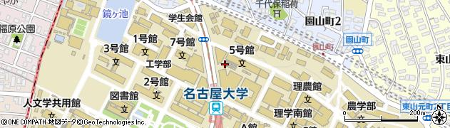愛知県名古屋市千種区四谷通周辺の地図