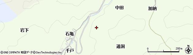 愛知県豊田市菅生町(千戸)周辺の地図