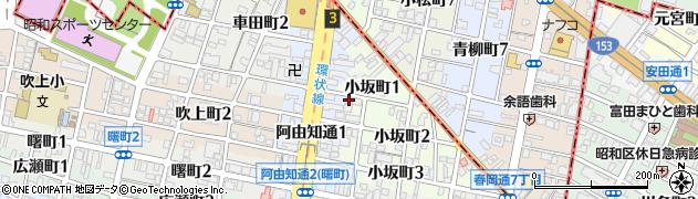 しーぐる周辺の地図