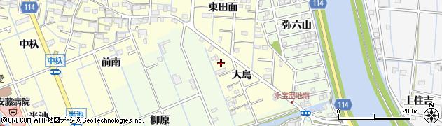 おちょぼ周辺の地図