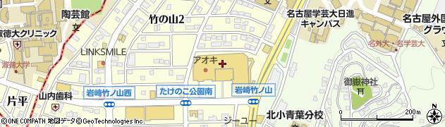 魚屋の寿し魚錠日進店周辺の地図