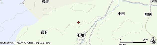 愛知県豊田市菅生町(石亀)周辺の地図