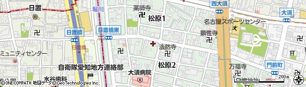有限会社八百善本店周辺の地図