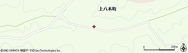 愛知県豊田市上八木町(芦ノ入)周辺の地図