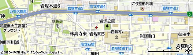 ビッグワン周辺の地図