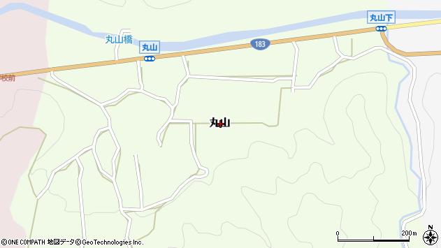 〒689-5213 鳥取県日野郡日南町丸山の地図