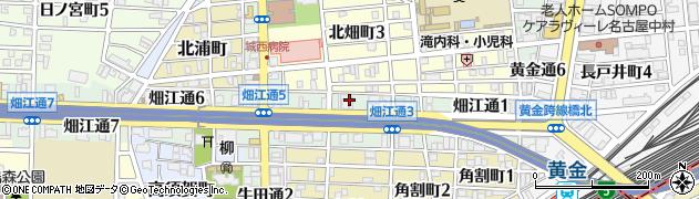 シャトー周辺の地図