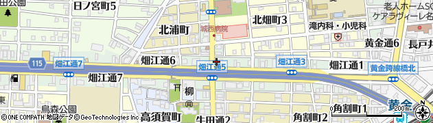 双葉鮨周辺の地図