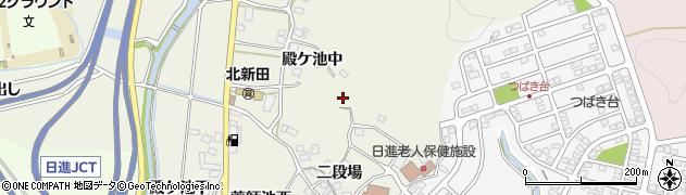 愛知県日進市北新町周辺の地図