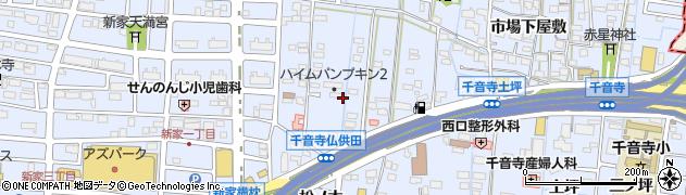 愛知県名古屋市中川区富田町大字千音寺(仏供田)周辺の地図