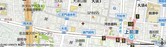 七福堂周辺の地図