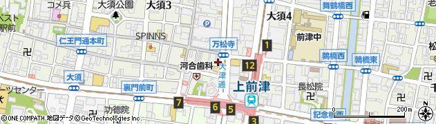 ボルサ 大須店周辺の地図