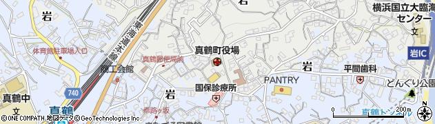 神奈川県足柄下郡真鶴町周辺の地図