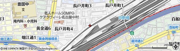 愛知県名古屋市中村区長戸井町周辺の地図