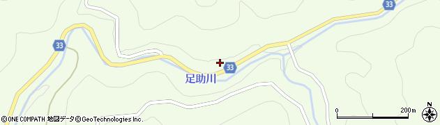 愛知県豊田市上八木町(中平)周辺の地図
