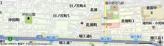 愛知県名古屋市中村区高須賀町(北西出)周辺の地図