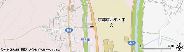 京都府京都市右京区京北周山町(馬場瀬)周辺の地図