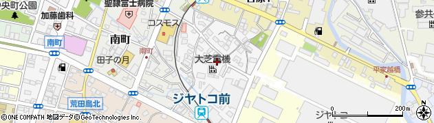 静岡県富士市依田原町周辺の地図